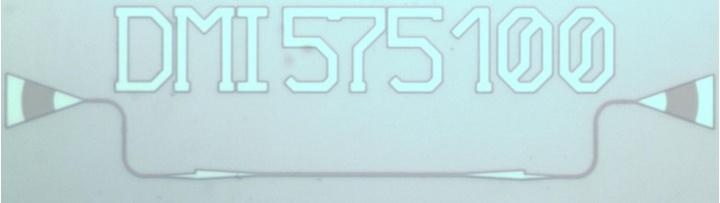Chipfoto eines Zweimodeninterferometers (DMI)