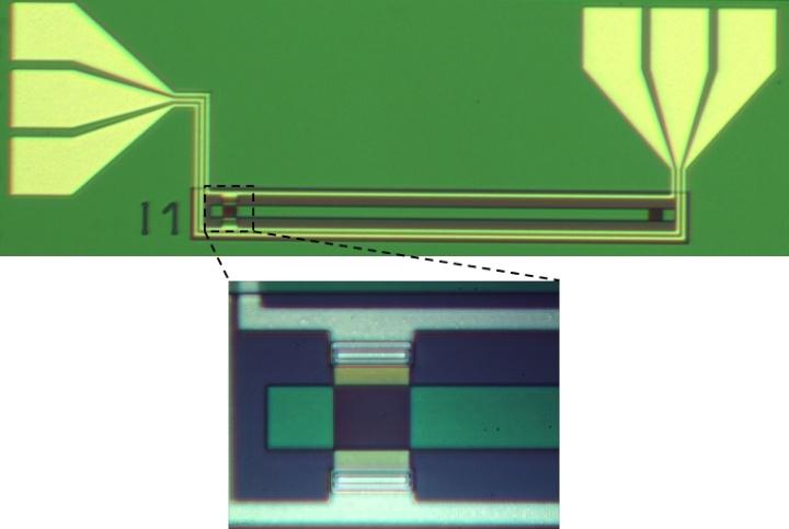 Elektro-optisch abstimmbarer Gitterkoppler